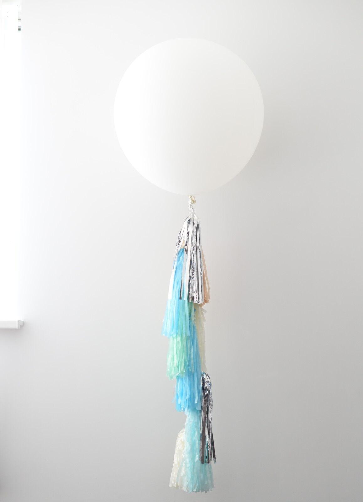 Shengshi star brille, ez-vous a ez-vous brille, au sentiHommes t de la clientèle Ballon tail-papier absorbant Tassel Garland-couleurs personnalisées 6ba505
