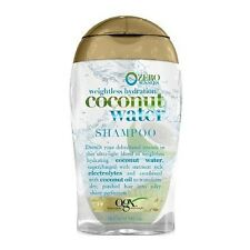 OGX Weightless Hydration Coconut Water Shampoo 3 oz (Pack of 2)
