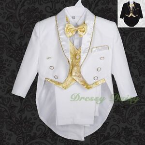 5-pc-Tuxedo-Formal-Suit-Wedding-Pageboy-Baptism-Christening-Outfit-Size-0-4-015