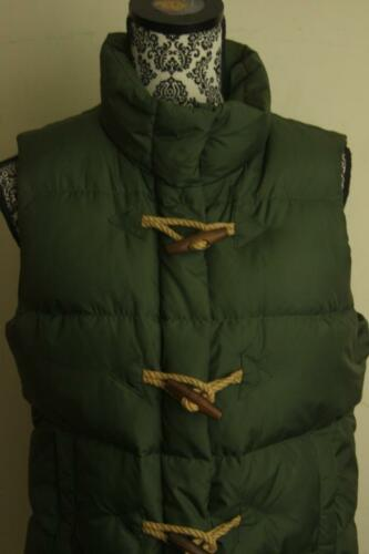 Green Crew Kvinder Xs Vest Down Skift Puffer Størrelse J Army 1w4xxq