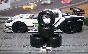 1-32-URETHANE-SLOT-CAR-TIRES-2pr-PGT-20125LM-fit-CARRERA-Corvette-C6R