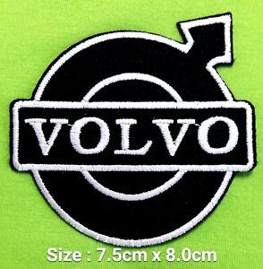 Volvo Motors Logo Iron Sewing Patch Decorate On Fabrics Ebay