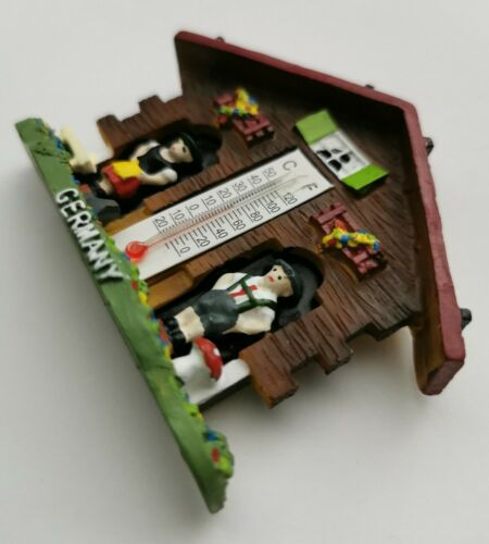 Germany Thermostat Cuckoo Clock 3D Resin Tourist Travel Souvenir Gift Magnet