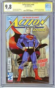 Action Comics #1000 CGC SS 9.8 NM/MT SIGNED Jim Lee Variant!!!