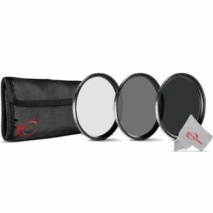 Vivitar 77mm Lens Filter Kit ND2 ND4 ND8 Neutral Density ND Filters Set