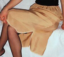 OMAS ELEGANTER  30/40er Perlon/Nylon HALB-Unterkleid-Unterrock  Gr.44 *NEU (252