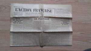 JOURNAL-NATIONALISTE-L-039-ACTION-FRANCAISE-18-AVRIL-1934-N-108-ABE