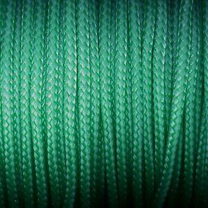 knot-knot-Paracord-Garn-fuer-Paracord-Technik-2-mm-smaragdgruen-4-Meter