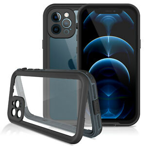 For Apple iPhone 13 12/12 13 Pro Max Case Waterproof Shockproof+Screen Protector