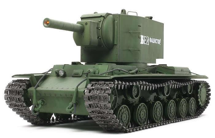Tamiya 1/16 R/C WWII Russian  KV-2  GIGANT Heavy Tank  Full Option Kit   56030