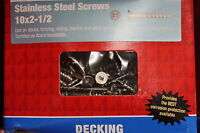 46549 Stainless Steel Screws 10x2-1/2 Square 5