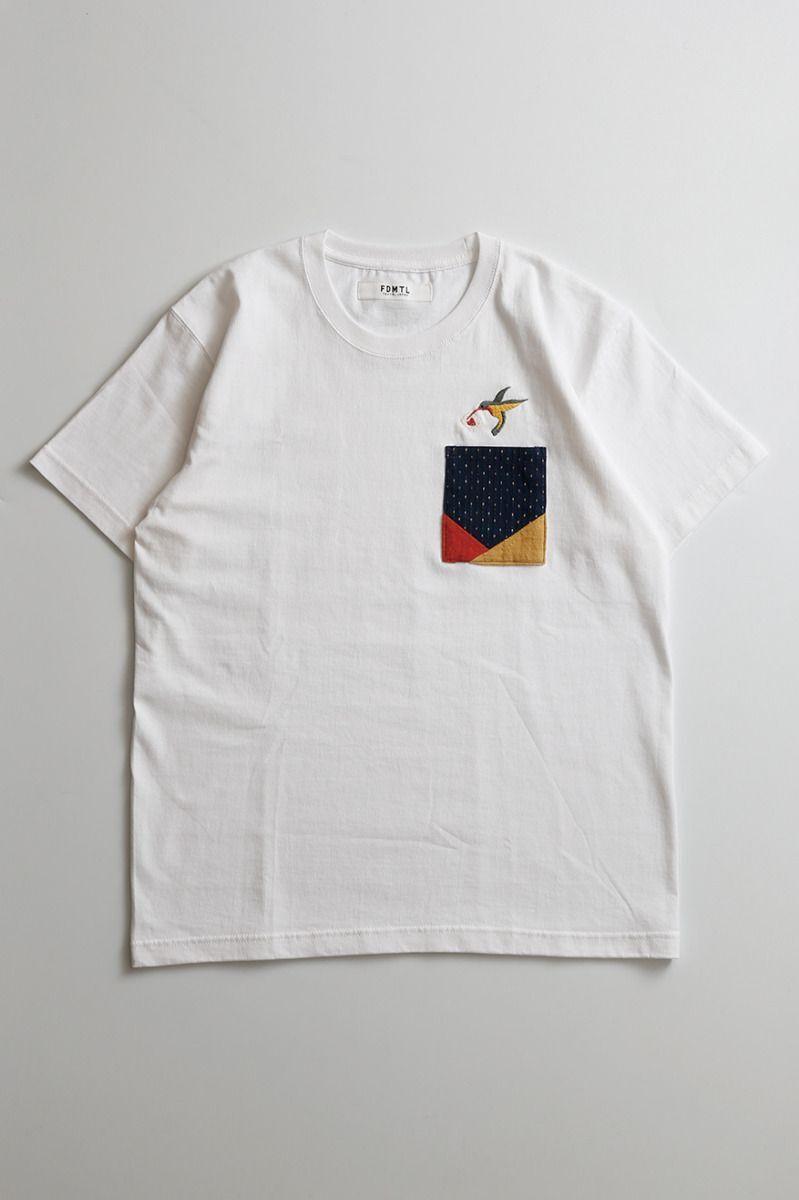 FDMTL Tokyo Japan ORIGAMI TEE White 100% Cotton