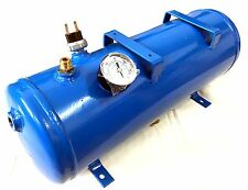 1.5 Gallon,6L AIR TANK,With 120 psi Gauge & Air Switch For Train Horn and more..