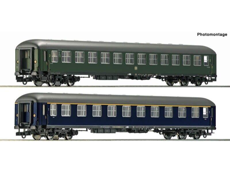 Roco 74113 vehículos implicados-set 2-tlg museo Darmstadt-Kranichstein h0