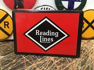 classic READING railway RAILROAD full backed refrigerator RR MAGNET