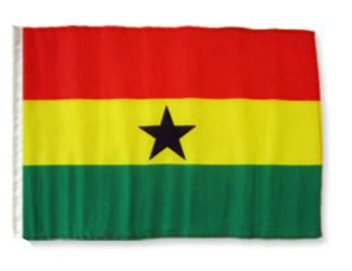 """12x18 12/""""x18/"""" Ghana Sleeve Flag Boat Car Garden"""