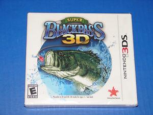 Super-Black-Bass-3D-Nintendo-3DS-Brand-New-Fast-Shipping
