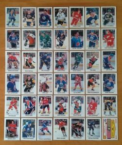 1987-88-OPC-O-PEE-CHEE-MINI-LEADERS-SET-OF-42-CARDS-GRETZKY-ROY-LEMIEUX