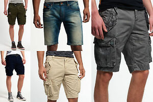 New-Mens-Superdry-Shorts-Various-Styles-amp-Colours