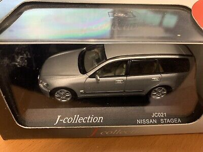 NISSAN STATION STAGEA SILVER J COLLECTION JC021 1//43
