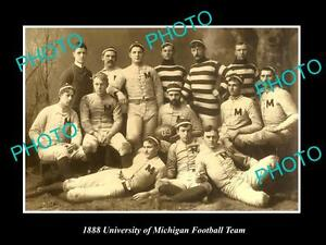 OLD-LARGE-HISTORIC-PHOTO-OF-THE-UNIVERSITY-OF-MICHIGAN-FOOTBALL-TEAM-c1888