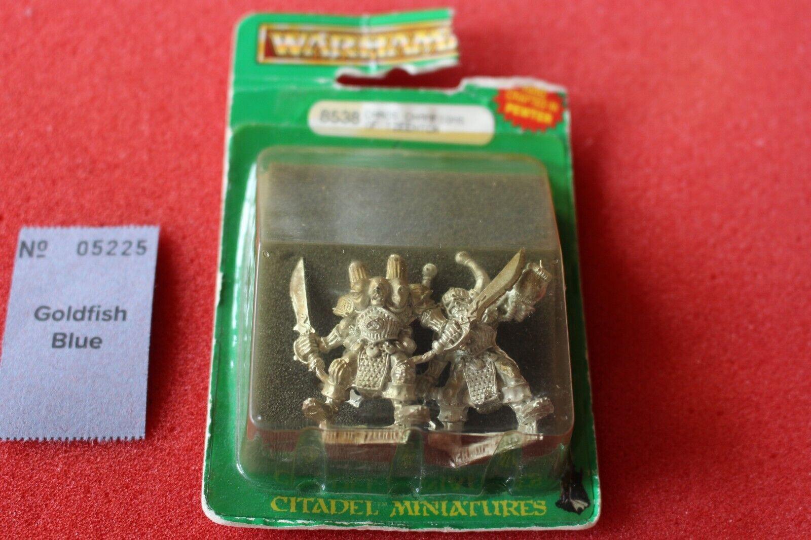 Spel Workshop Warhammer Champions of Tzeentch Chaos Metal Fantasy Figures 80s