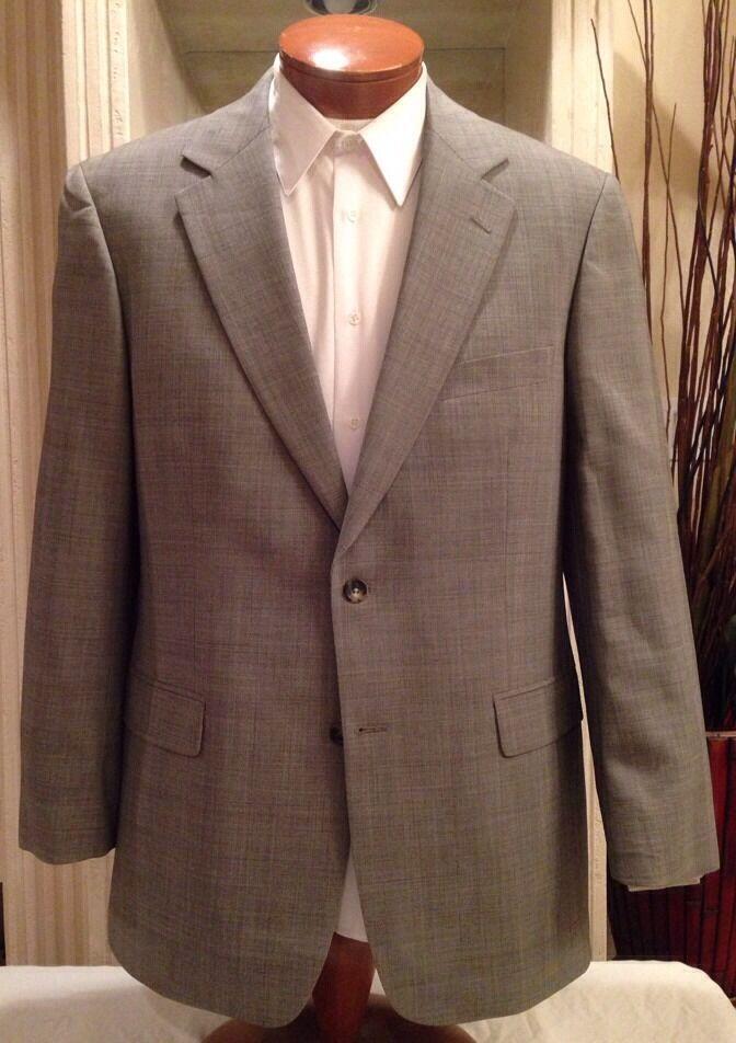 Brooks Brothers  Herren grau Plaid Suit Sz 40 41 42 R Excellent