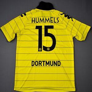 timeless design 85a69 ca1a3 Details about MATS HUMMELS BORUSSIA DORTMUND season 2010 2011 XL Hom Jersey  Football Shirt BVB
