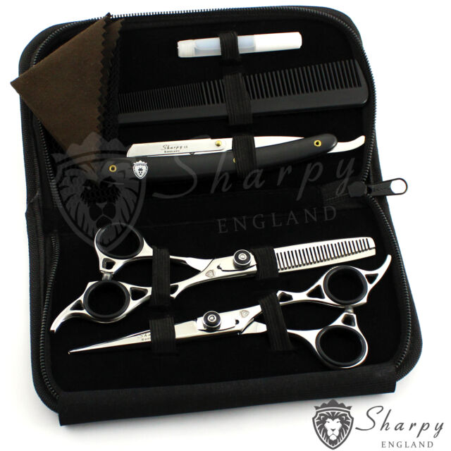 "Professional Hairdressing Scissors Barber Salon Shears SET 6.5"" With Free RAZOR"