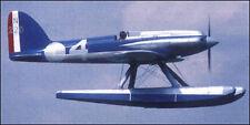 1/8 Scale Supermarine S.5 Racer Seaplane Plans, Templates, Instructions