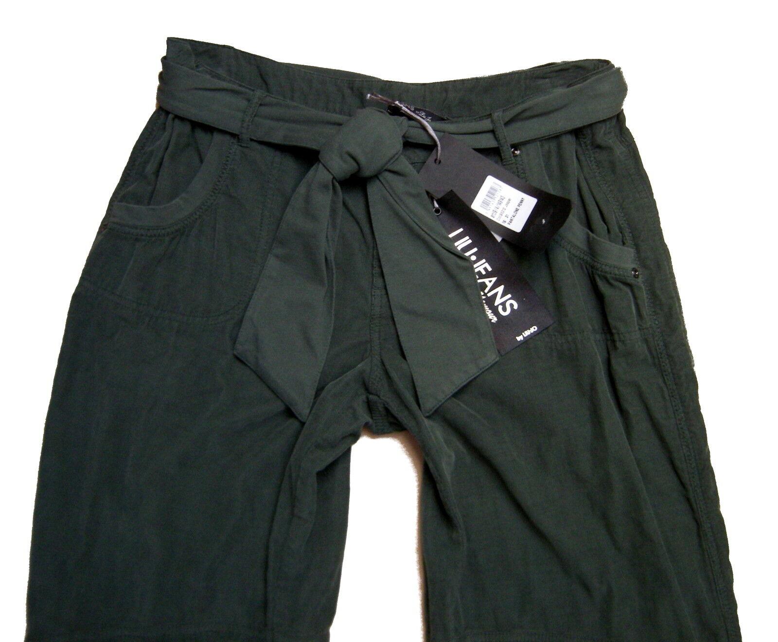 Pantalone Liu Jo women Women Pants Trousers casual Genuine Green