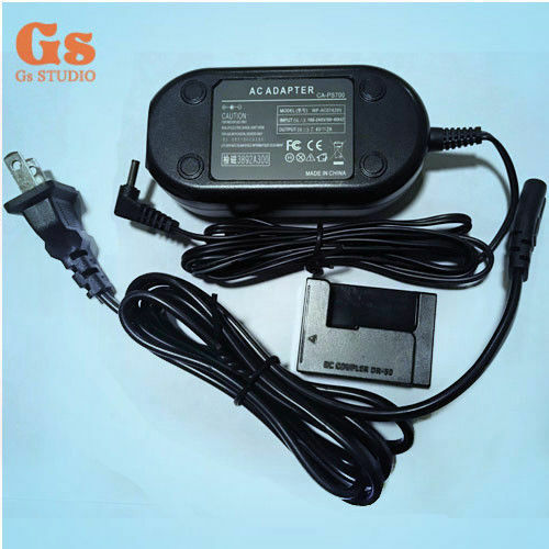 ACK-DC50 AC Power Adapter kit for Canon PowerShot G10 G11 G12 SX30 IS SX30IS