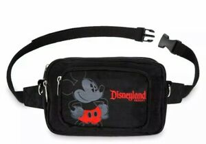 Disney Authentic Mickey Mouse Hip Pack Travel Vacation Bag NWT