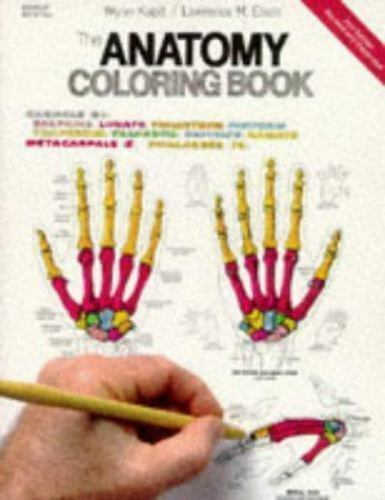 The Anatomy Coloring Book By Lawrence M Elson And Wynn Kapit