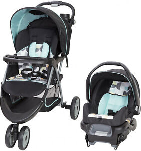 Baby Trend Stroller Travel System Canopy Cup Holders