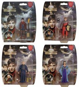 New-Merlin-Action-Figure-Set-of-4-figures-Morgana-Arthur-Merlin-and-Gaius