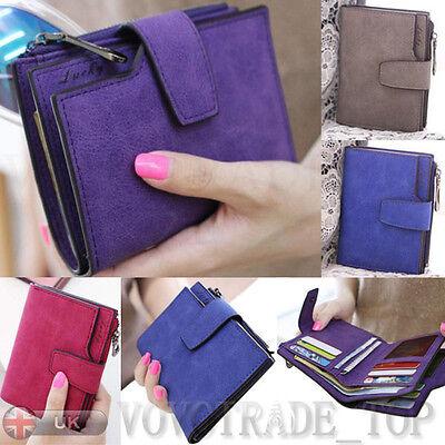 Fashion Women Bifold Wallet Clutch Zipper Purse Ladies Small Handbag Holder Lot