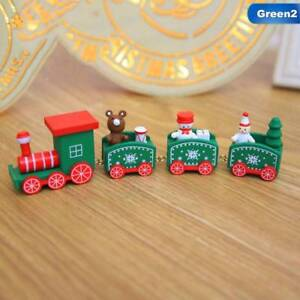 Xmas-Wooden-Christmas-Train-Santa-Claus-Festival-Ornament-Home-Decor-Kids-Gifts