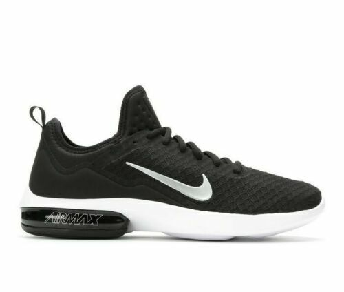 Mens Nike Air Max Kantara Running Shoes Black White Silver Grey Gray 908982 001