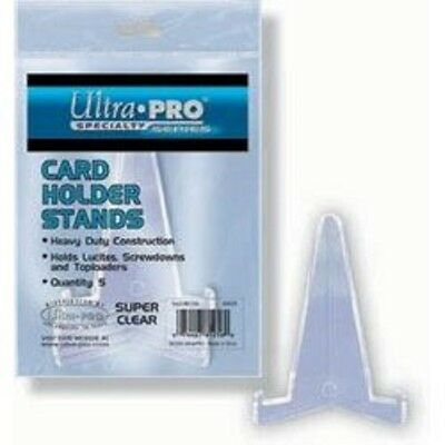 1 pack of 5 Ultra Pro Small Lucite Stand for Card Holders
