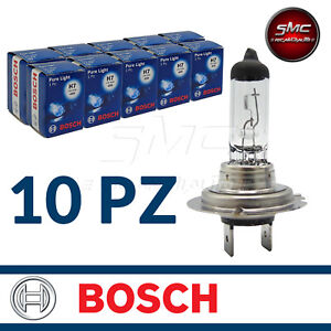 10-LAMPADE-BOSCH-H7-PURE-LIGHT-12V-55W-10-PEZZI-COD-1987302777