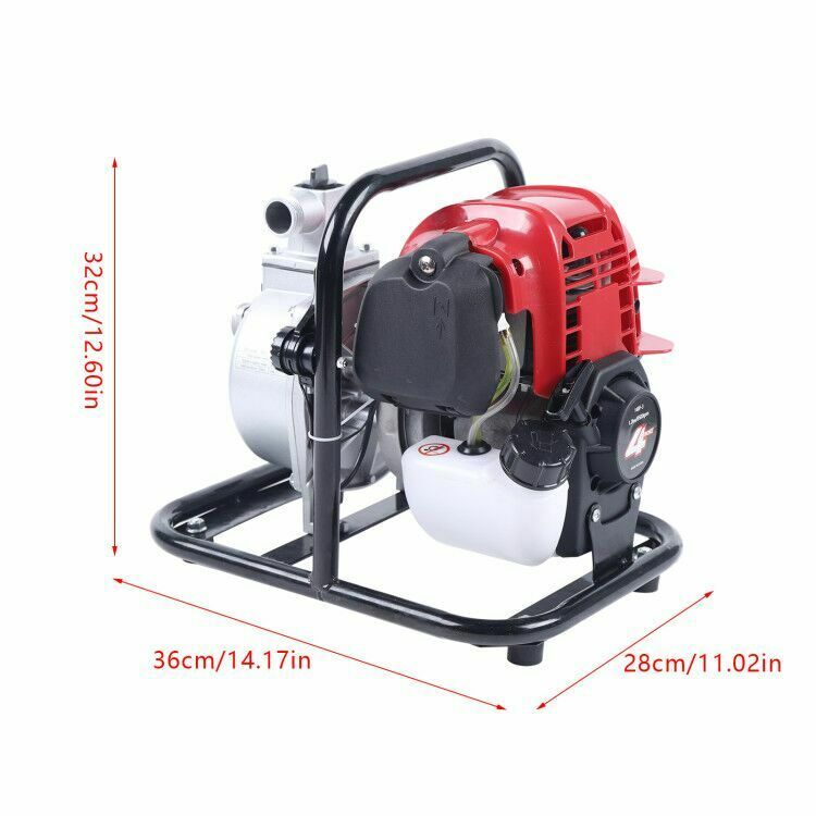 1200W 4 Stoke High Flow Water Transfer Pump Air-cooled Pump Single-Cylinder UK