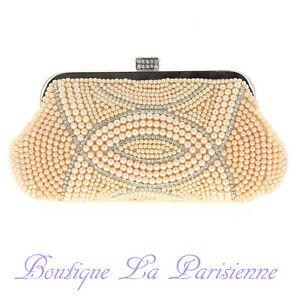 Kleidung & Accessoires Symbol Der Marke Luxus Abendtasche Handtasche Perlen Kristall Tasche Schultertasche Brauttasche