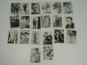 Vintage-Lot-of-20-Robert-Vaughn-Topps-1965-Trading-Cards-034-The-Man-from-Uncle-034