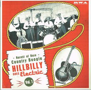 VARIOUS-ARTISTS-HILLBILLY-BOOGIE-Volume-1-10-034-VINYL-LP-Rockabilly