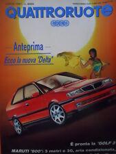 Quattroruote 429 1991 - L'anniversario della vittoria FERRARI Gp Inghi     [Q39]