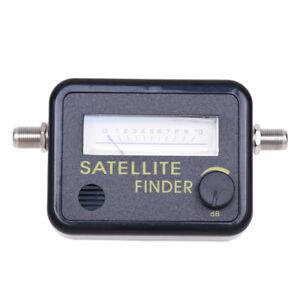digital satellite finder signal meter for directv dish tv. Black Bedroom Furniture Sets. Home Design Ideas
