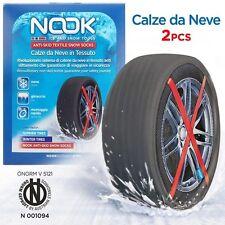 CALZE CALZA NEVE NOOK DA CITTA COME CATENE AUTO SNOW 225 45 55 65 70 17 19 20 18