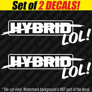 Image Is Loading Hybrid Lol Decal Sticker 4x4 Sel Swamper Lifted