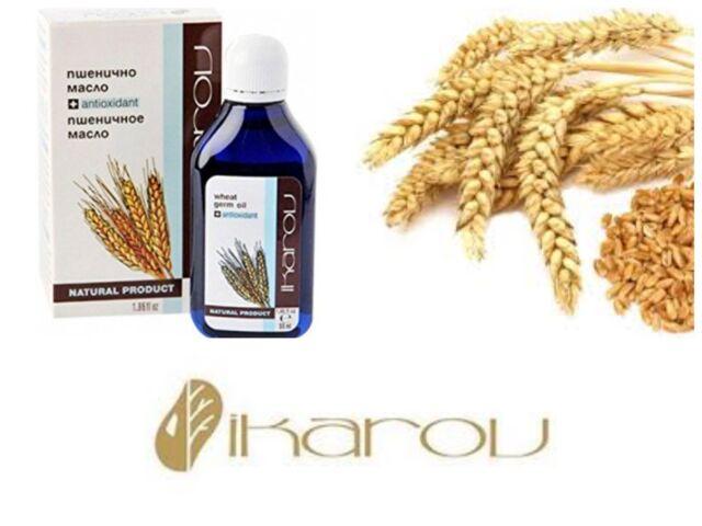 100% Pure Natural oil Wheat Germ Face Moisturising Anti Aging Vitamin E - Ikarov